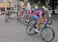 Radrennen auf der Langen Zeile
