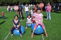 Kinder beim Spielefest