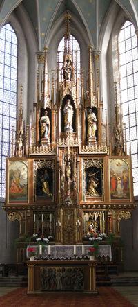 Kirche Sankt Johannes Innen