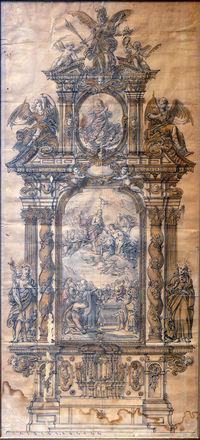 alte Altarskizze