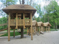 Spielhäuser im Stadtpark