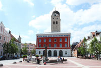 Stadtturm, Sparkasse, Schrannenplatz
