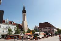 Markttag auf dem Schrannenplatz