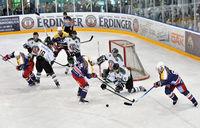 Eishockeyspiel im Stadion