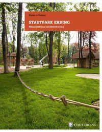 Titel der Stadtpark-Broschüre