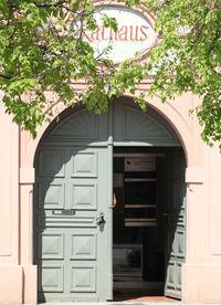 Eingang Rathaus Erding