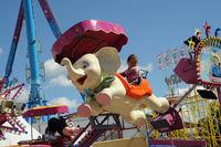 Kind im Karusell