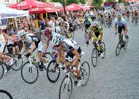 Radrennen auf dem Altstadtfest