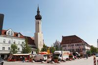 Wochenmarkt auf dem Schrannenplatz