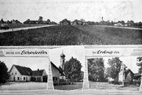 Alte Postkarte aus Eichenkofen