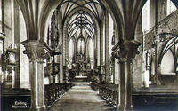 Pfarrkirche Erding Innenansicht 1910
