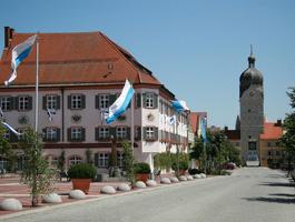 Das Rathaus und der schöne Turm
